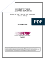 CT Top Transportation Issues TRIP Report Nov 2015
