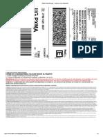 Guía FedEx 20Kg
