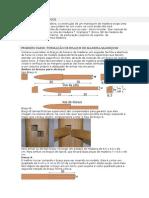 Materiais Necessários Para o Boneco de Madeira Wing Chun Kuen
