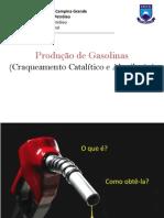 Produção de Gasolinas (Craqueamento e Alquilação).pdf
