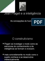 Jean Piaget e a inteligência