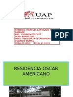 Residencia Oscar Americano Brutalismo