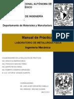 Manual de Lab. de Metalurgia Física