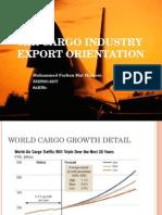 Air Cargo Industry Export Orientation