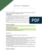 Comunicação e Linguagem.doc