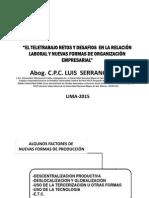 2015.03.17 Nuevos Fenomenos Empresariales Outsourcing y Teletrabajo