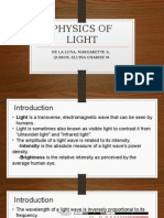 Physics of Light