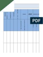 Formato de Matriz de Riesgos Gtc 45 Actualizada - Sin Factor de Justificacion