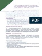 REGLAMENTO ELECCIONES APAFA - PERU
