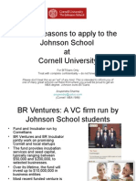 Why Bits i Ans Should Apply to Cornell