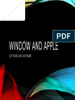 Windows AND Apple