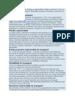 Contractul de Transport Multimodal