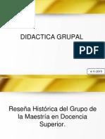 Didactica Grupal Reseña Historica 2015