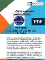 Control de Lectura de Gerencia Luis Hagei Gestion de La Calidad y Competitividad
