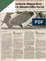 28-02-13 Infraestructura deportiva potenciará desarrollo local