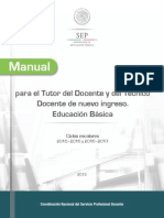 Manual Para El Tutor Básica