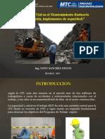 SEGURIDAD VIAL EN MANTENIMIENTO RUTINARIO DE CARRETERAS