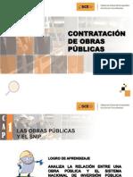 Presentación Contratación de Obras Públicas