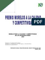 Modelo Premio Morelos UVM e IMCC