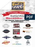 East of Grand Business Association Holiday Walk 2015