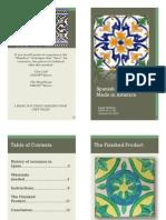spanish ceramic tiles booklet
