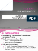 SOLID WASTE MANAGEMENT (TKA 4201) LECTURE NOTES 8
