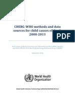 ChildCOD Method 2000 2013