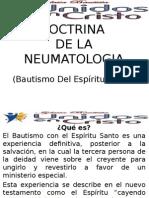 Doctrina de La Neumatologia (Bautismo Del Espíritu Santo)