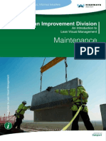 Maintenance - Introduction to Lean Visual Management