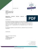 Carta Solicitud Extracto Cuenta Davivienda