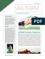 animal farm newsletter