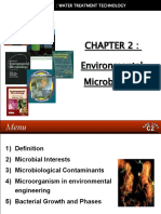WATER TREATMENT TECHNOLOGY (TAS 3010) LECTURE NOTES 2 - Environmental Microbiology