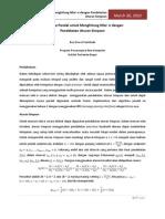 Algoritma Paralel Untuk Menghitung Nilai Pi