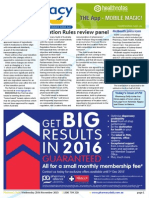 Pharmacy Daily for Wed 25 Nov 2015 - Location Rules review panel, Guild welcomes minister to dinner, Labelling changes, Health AMPERSAND Beauty and much more