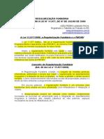 PONTOS LEI 11.9777 - Regularização Fundiária, Minha Casa Minha Vida