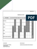 Calendario de Auditorias 2015