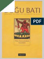 Doğu Batı Sayı 59 - Türk Sosyalizminin Eleştirisi