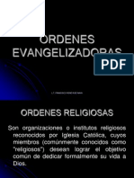 ORDENES EVANGELIZADORAS