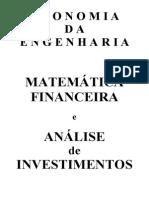 Matemática Financeira & Análise de Investimentos