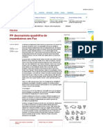 PF Desmantela Quadrilha de Muambeiros Em Foz - Paraná-Online -