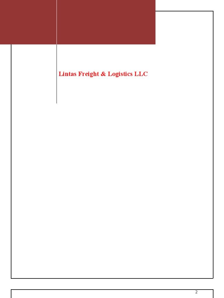 Logistics Project Report   Logistics   Warehouse