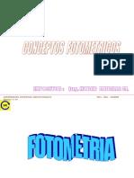 Conceptos fotometricos