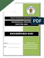 Panduan Konservasi Gigi Profesi Dokter Gigi