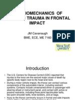 Biomechanics of Thoracic Trauma in Frontal Impact [Compatibility Mode]12