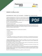 normas revista SEPD