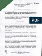 ACUERDO N° 009 DEL 24 NOV DE 2015
