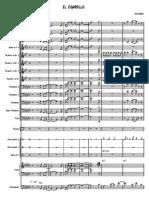 El Cigarrillo Brass Score Big Band Format