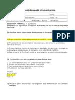 Examen de Lenguaje y Comunicación SEXTO