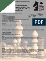 Qualification championnat Suisse 2016