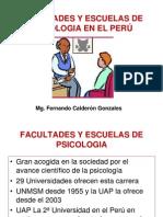 Facultades y Escuelas Psicologicas Act.